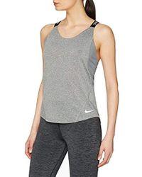 Nike - W Nk Dry Tank Elastka Sports Top - Lyst
