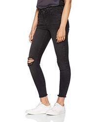 29c8e3d3ef8278 Vero Moda Vmsophia Hw Skinny Jeans Md Bl Noos in Blue - Lyst
