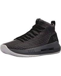 Under Armour UA Heat Seeker, Chaussures de Basketball Homme - Noir