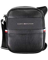 d663262faa2 Tommy Hilfiger - Th Business Mini Reporter, 's Shoulder Bag, Black, 6x21x18