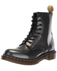 Dr. Martens - 1460 W Vegan Chrome Ankle Boots - Lyst