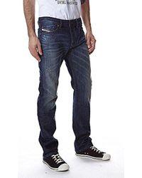DIESEL - Waykee Regular Straight-leg Jean 0837a - Lyst