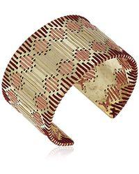 Lucky Brand - S Threaded Statement Cuff Bracelet - Lyst