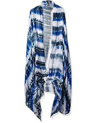 Woolrich - Shibori Lightweight Dyed Wrap - Lyst