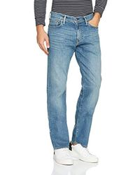 Levi's - 504 Regular Fit Straight Jeans - Lyst