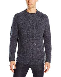 French Connection - Ridge Cable Sweater - Lyst