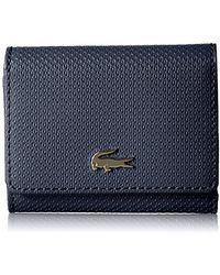Lacoste - Small Trifold Wallet, Nf2252ce - Lyst