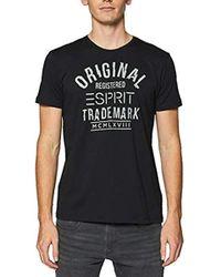 Quiksilver Camiseta Eqyzt04832-kvj0 Negro Hombre Men s T Shirt In ... 6d41dd5d0a