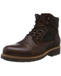 Tommy Hilfiger - 's Active Material Mix Boot Combat - Lyst