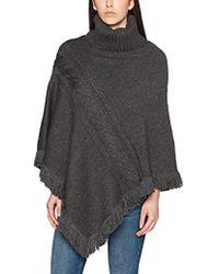 Esprit - Accessoires 097ea1q025, Bufanda para Mujer, Gris (Dark Grey 020), Talla única - Lyst