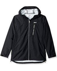 Asics - Waterproof Jacket, Black, X-large - Lyst