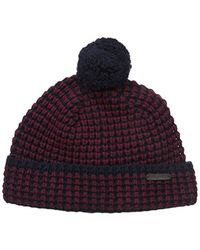 Ted Baker - Walhat Knitted Beanie Hat - Lyst