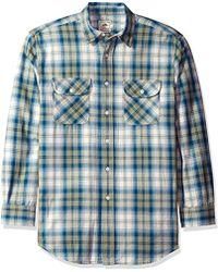 Pendleton - Long Sleeve Beach Shack Twill Shirt - Lyst
