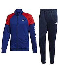 8a8497ede89e adidas Pes Marker Tracksuit in Blue for Men - Lyst