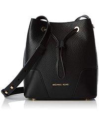 d9c20f1a1dfe MICHAEL Michael Kors Cary Small Bucket Bag (black) Bags in Black - Lyst