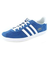 adidas Gazelle Indoor New Navy Argentina Blue in Blue for Men - Lyst a589a5dc6