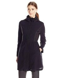 Elie Tahari - Lexy Fit And Flare Lace Coat With Hood - Lyst