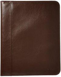 Ben Sherman - Classic Size Leather Like Pvc Bifold Writing Pad - Lyst
