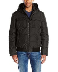 Dockers - Poly-oxford Two Pocket Puffer Hoody - Lyst