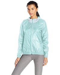 Nanette Lepore - Play Plus Size Perforated Packable Windbreaker - Lyst