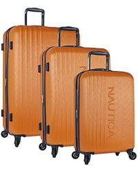 Nautica - 3 Piece Hardside Spinner Luggage Set - Lyst