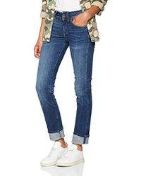 G-Star RAW - Damen Midge Saddle Mid-Waist Straight Jeans - Lyst