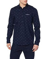 Scotch & Soda - Regular Fit-Shirt with Sleeve Collectors And Fixed Pochet, Camicia Uomo, Multicolore (Combo B 0218), Small - Lyst