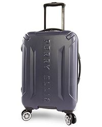 "Perry Ellis - Delancy Ii 21"" Hardside Carry-on Spinner Luggage - Lyst"