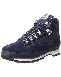 8cdbe86d9591 Timberland - Euro Hiker Fabric And Leather Chukka - Lyst