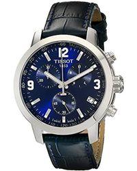 Tissot - Tist0554171604700 200 Analog Display Swiss Quartz Blue Watch - Lyst