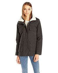 Madden Girl - Wax Cotton Utility Jacket - Lyst