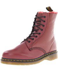 f2966377 Dr. Martens Dr. Martens Mens Oxblood Burgundy Vintage 101 Gst Boots Men's  Mid Boots In Red in Red for Men - Lyst