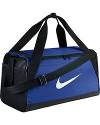 Nike - Nk Brsla S Duff Sacca Palestra Uomo, Multicolore (Game Royal/Black) 24x15x45 Centimeters - Lyst