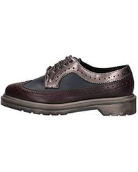 37fac8c10cc24 Dr. Martens Core Mie Steed Derby Shoes in Purple for Men - Lyst