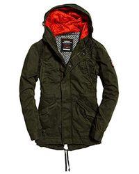 1b6770bc8632e4 Men's Superdry Parka jackets Online Sale - Lyst
