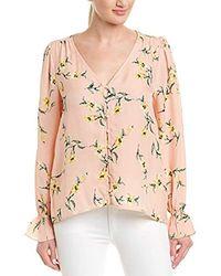 1442f28e1755bb Joie - Bolona Silk Long Sleeve Blouse - Lyst