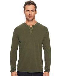 Lucky Brand - Saturday Stretch Henley Shirt - Lyst