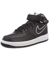 sports shoes fa10a 66d19 Nike - Air Force 1 Mid  07 Aq8650-001 Fitness Shoes, Multicolour (