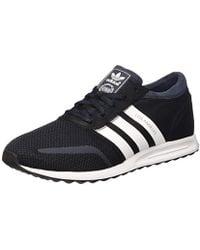 eeab052cb6e242 adidas Originals Originals Black And Copper Los Angeles Sneakers in ...