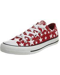 2fa7e1764b2c Converse - Chuck Taylor All Star Multi Star Print Ox Women s Shoes (trainers)  In