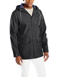 Izod - Waterproof Rain Slicker Jacket - Lyst