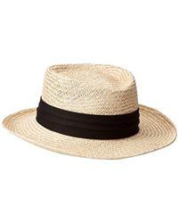 Tommy Bahama - Palm Fiber Gambler Hat - Lyst