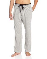 U.S. POLO ASSN. - .. Solid Sleep Pant With Contrast Trim - Lyst