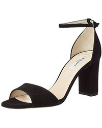 e68c795bc16a L.K.Bennett L.k. Bennett Helena Block Heeled Sandals in Metallic - Lyst