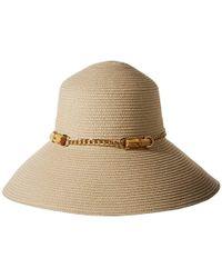 a09b9f0479a Lyst - Gottex Tara Micro-terry Packable Sun Hat