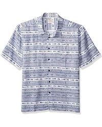 Quiksilver - Tapua Sunrise Shirt, - Lyst