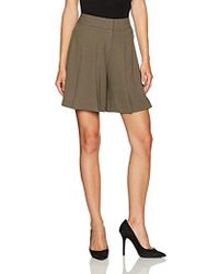 Nine West - Crepe Shorts - Lyst