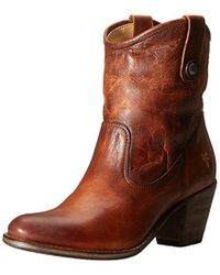 Frye - Jackie Button Short Boot - Lyst