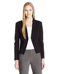 Ellen Tracy - Open Front Jacket - Lyst