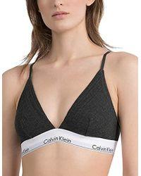 27edda8a4f4f28 Calvin Klein - Unlined Triangle, Reggiseno a Triangolo Donna - Lyst